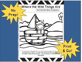 Where the Wild Things Are :  No Prep Book Companion