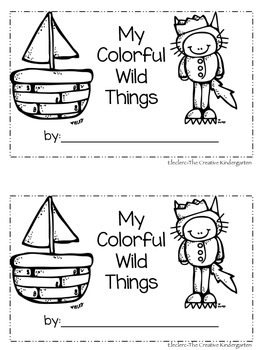 Where the Wild Things Are {Reading Color Words}