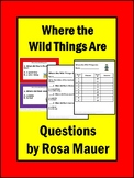 Where the Wild Things Are Activities