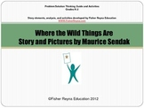 Where the Wild Things Are - Retelling to Summary activities