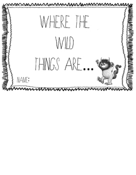 Where the Wild Things Are Sequencing FlipBook