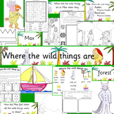 Where the Wild Things Are - book study activity pack