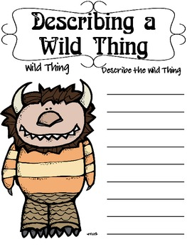 """Where the Wild Things Are"", by M. Sendak, Questions and Projects"