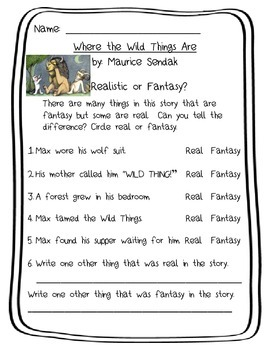 Where the Wild Things Are pack