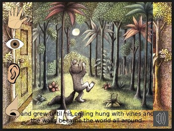 Where the Wild Things Are senses writing