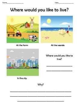 Where would you like to live?