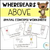 WhereBear's ABOVE Book (spatial concepts)