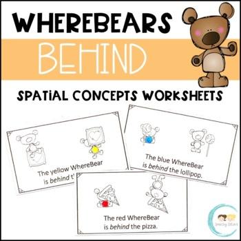 WhereBear's BEHIND Book (spatial concepts)