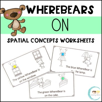 WhereBear's ON Book (spatial concepts)