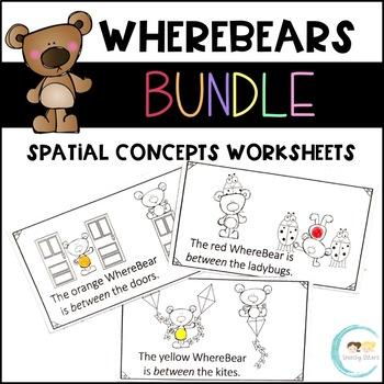 WhereBear's Spatial Concept Books BUNDLE
