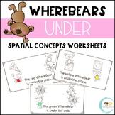 WhereBear's UNDER Book (spatial concepts)