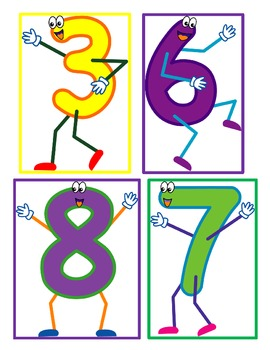 Where's Baby 6? A Number Recognition Game