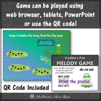 Melody Do Mi Sol Interactive Music Game {Freddie's Pad}