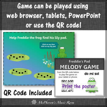 Melody Game ~ Do Mi Sol Interactive Music Game {Freddie's Pad}