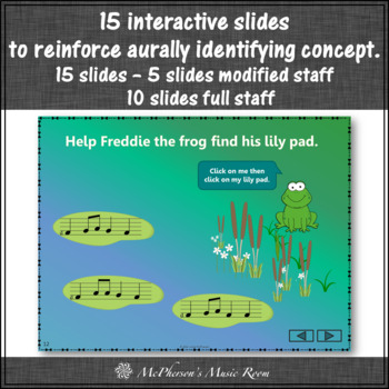Melody Do Re Mi Interactive Music Game {Freddie's Pad}