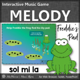 Melody Game ~ Sol Mi La Interactive Music Game {Freddie's Pad}