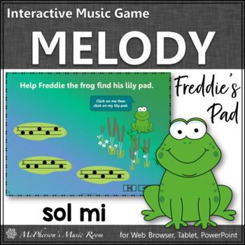 Where's Freddie's Pad? Melody Sol Mi (PowerPoint)
