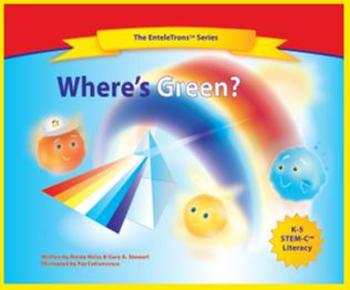 Where's Green? signed hardcover book