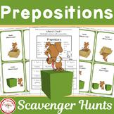 Prepositions Scavenger Hunt