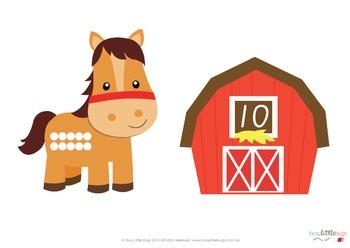 Where's My Barn - Numbers 1-20