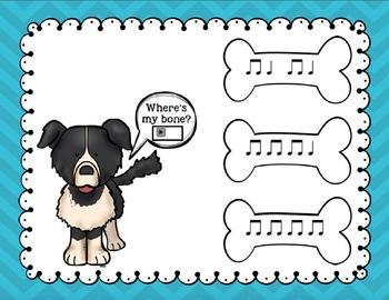 Where's My Bone?: Interactive Game and Manipulatives {Ta Ti-Ti}