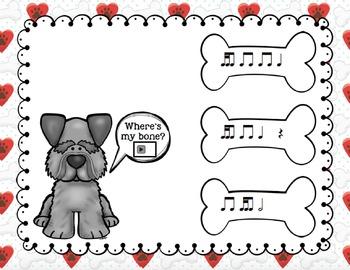 Where's My Bone?: Interactive Game and Manipulatives {Tika-Ti}