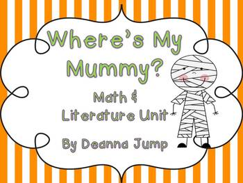 Where's My Mummy?  Literature Unit