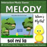 Spring Music Game: Sol Mi La Interactive Melody Game {Nest}