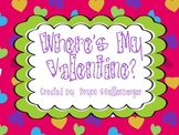 Where's My Valentine? A middle sounds matching game
