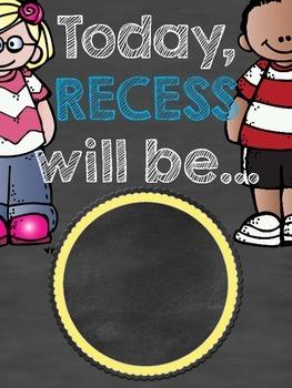 Where's Recess? Poster Set