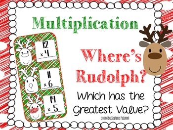 Where's Rudolph?-Multiplication and Place Value
