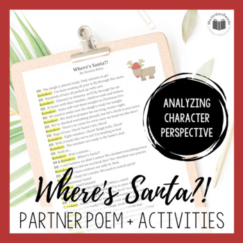 """Where's Santa?!"" {A Seasonal Partner Poem}"