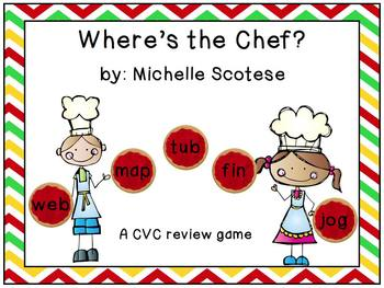 Where's The Chef? A CVC review game