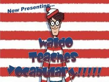 Where's Waldo Group Vocabulary Activity