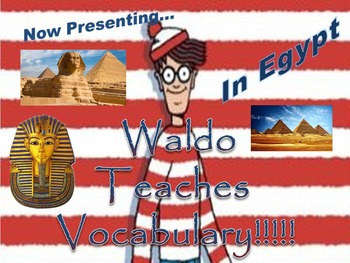 Where's Waldo Group Vocabulary Activity: Ancient Egypt