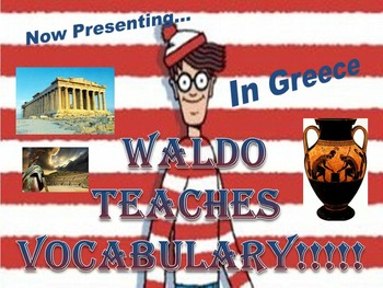 Where's Waldo Group Vocabulary Activity: Ancient Greece