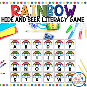 Where's the Butterfly- A Letter Recognition Game