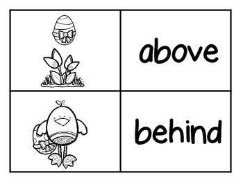 Where's the Egg? An Easter Positional Words Emergent Reader and Retelling Cards
