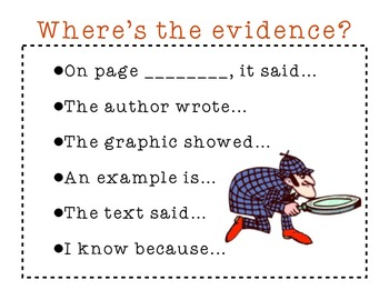 Where's the Evidence? Poster