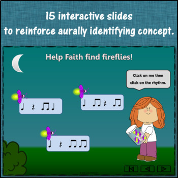 Eighth Notes - Where's the Firefly? Interactive Rhythm Game and Assessments