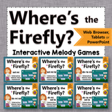 Solfege   Interactive Melody Games + Assessments {Firefly Bundle}