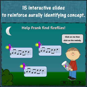 Where's the Firefly? Melody Do Mi Sol La (Interactive Game and Assessments)