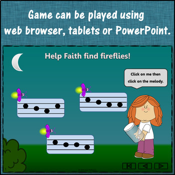Melody Game: Do Re Mi Interactive Music Game + Assessment {Firefly}