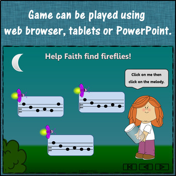 Where's the Firefly? Melody Do Re Mi Sol La (Interactive Game and Assessments)