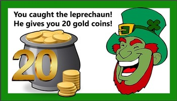 """Where's the Gold?"" BEST St. Patrick's Day, Leprechaun, Board game"