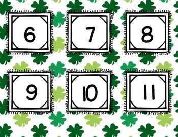 Where's the Leprechaun? ~FREEBIE~ Recognizing Numerals 0-20