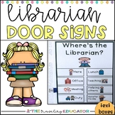 Where's the Librarian? Door Signs