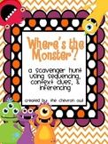 Where's the Monster? Scavenger Hunt Sequencing, Context Cl