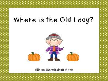 Where's the Old Lady?