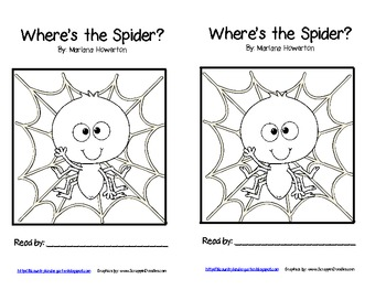 Where's the Spider? A Positional Words Emergent Reader and Retelling Wristband